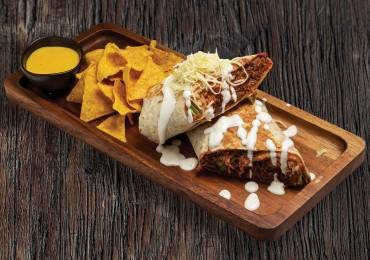 Machaca Burrito